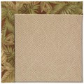 Capel Rugs Creative Concepts Cane Wicker - Bahamian Breeze Cinnamon (875) Rectangle 7