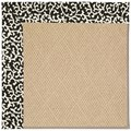 Capel Rugs Creative Concepts Cane Wicker - Coral Cascade Ebony (385) Rectangle 8