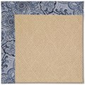 Capel Rugs Creative Concepts Cane Wicker - Paddock Shawl Indigo (475) Rectangle 8