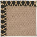 Capel Rugs Creative Concepts Grassy Mountain - Bamboo Coal (356) Octagon 4