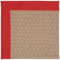 Capel Rugs Creative Concepts Grassy Mountain - Canvas Jockey Red (527) Octagon 4