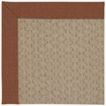 Capel Rugs Creative Concepts Grassy Mountain - Linen Chili (845) Octagon 4