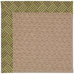 Capel Rugs Creative Concepts Grassy Mountain - Dream Weaver Marsh (211) Octagon 6' x 6' Area Rug