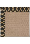 Capel Rugs Creative Concepts Grassy Mountain - Bamboo Coal (356) Octagon 6' x 6' Area Rug