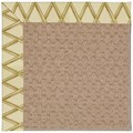 Capel Rugs Creative Concepts Grassy Mountain - Bamboo Rattan (706) Octagon 6