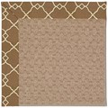 Capel Rugs Creative Concepts Grassy Mountain - Arden Chocolate (746) Octagon 6