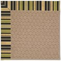 Capel Rugs Creative Concepts Grassy Mountain - Vera Cruz Coal (350) Octagon 8