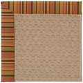 Capel Rugs Creative Concepts Grassy Mountain - Tuscan Stripe Adobe (825) Octagon 10