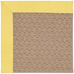 "Capel Rugs Creative Concepts Grassy Mountain - Canvas Buttercup (127) Runner 2' 6"" x 8' Area Rug"