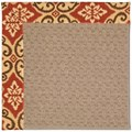 Capel Rugs Creative Concepts Grassy Mountain - Shoreham Brick (800) Rectangle 7