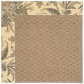 Capel Rugs Creative Concepts Raffia - Cayo Vista Graphic (315) Octagon 4