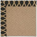 Capel Rugs Creative Concepts Raffia - Bamboo Coal (356) Octagon 4