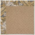 Capel Rugs Creative Concepts Raffia - Bahamian Breeze Ocean (420) Octagon 6