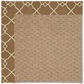 Capel Rugs Creative Concepts Raffia - Arden Chocolate (746) Octagon 6