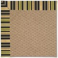 Capel Rugs Creative Concepts Raffia - Vera Cruz Coal (350) Octagon 8