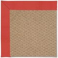 Capel Rugs Creative Concepts Raffia - Canvas Paprika (517) Octagon 8