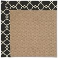 Capel Rugs Creative Concepts Raffia - Arden Black (346) Octagon 10