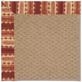Capel Rugs Creative Concepts Raffia - Java Journey Henna (580) Runner 2