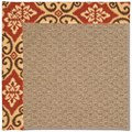 Capel Rugs Creative Concepts Raffia - Shoreham Brick (800) Runner 2