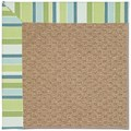 Capel Rugs Creative Concepts Raffia - Capri Stripe Breeze (430) Runner 2