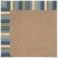 Capel Rugs Creative Concepts Raffia - Kalani Ocean (417) Rectangle 5