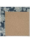 Capel Rugs Creative Concepts Raffia - Bandana Indigo (465) Rectangle 5' x 8' Area Rug