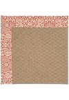 Capel Rugs Creative Concepts Raffia - Imogen Cherry (520) Rectangle 5' x 8' Area Rug