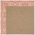 Capel Rugs Creative Concepts Raffia - Imogen Cherry (520) Rectangle 5
