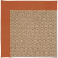Capel Rugs Creative Concepts Raffia - Canvas Rust (837) Rectangle 5