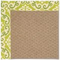 Capel Rugs Creative Concepts Raffia - Shoreham Kiwi (220) Rectangle 6