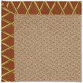 Capel Rugs Creative Concepts Raffia - Bamboo Cinnamon (856) Rectangle 7