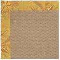 Capel Rugs Creative Concepts Raffia - Cayo Vista Tea Leaf (210) Rectangle 8