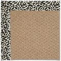 Capel Rugs Creative Concepts Raffia - Coral Cascade Ebony (385) Rectangle 8