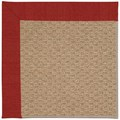 Capel Rugs Creative Concepts Raffia - Canvas Cherry (537) Rectangle 8