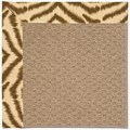 Capel Rugs Creative Concepts Raffia - Couture King Chestnut (756) Rectangle 8
