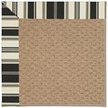 Capel Rugs Creative Concepts Raffia - Down The Lane Ebony (370) Rectangle 8