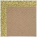 Capel Rugs Creative Concepts Raffia - Coral Cascade Avocado (225) Rectangle 9