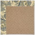 Capel Rugs Creative Concepts Raffia - Cayo Vista Ocean (425) Rectangle 12