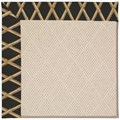 Capel Rugs Creative Concepts White Wicker - Bamboo Coal (356) Octagon 4