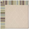 Capel Rugs Creative Concepts White Wicker - Brannon Whisper (422) Octagon 4