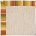 Capel Rugs Creative Concepts White Wicker - Kalani Samba (224) Octagon 6