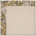 Capel Rugs Creative Concepts White Wicker - Bahamian Breeze Ocean (420) Octagon 6