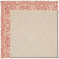 Capel Rugs Creative Concepts White Wicker - Imogen Cherry (520) Octagon 6