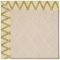 Capel Rugs Creative Concepts White Wicker - Bamboo Rattan (706) Octagon 6