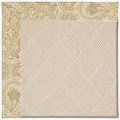 Capel Rugs Creative Concepts White Wicker - Paddock Shawl Mineral (310) Octagon 8