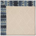 Capel Rugs Creative Concepts White Wicker - Java Journey Indigo (460) Octagon 8