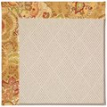 Capel Rugs Creative Concepts White Wicker - Tuscan Vine Adobe (830) Octagon 8