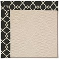 Capel Rugs Creative Concepts White Wicker - Arden Black (346) Octagon 10