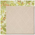 Capel Rugs Creative Concepts White Wicker - Cayo Vista Mojito (215) Octagon 12