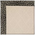 Capel Rugs Creative Concepts White Wicker - Wild Thing Onyx (396) Runner 2